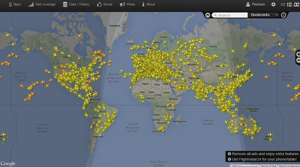 Движения самолетов схема онлайн